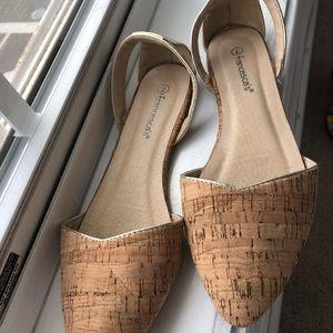 Shoes - Cork flats  EUC
